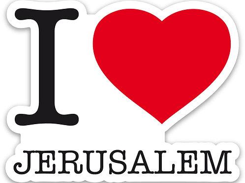I Love Jerusalem
