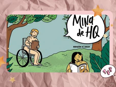 Já está disponível no Catarse: 2ª edição da Revista Mina de HQ