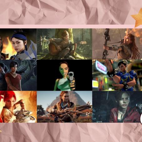 Protagonismo feminino na história dos games no decorrer dos anos