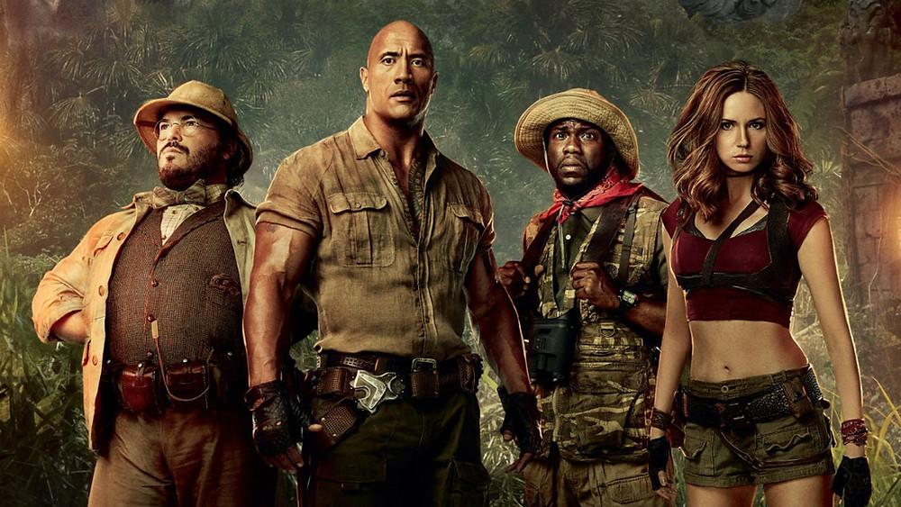 poster do filme jumanji bem vindo a selva