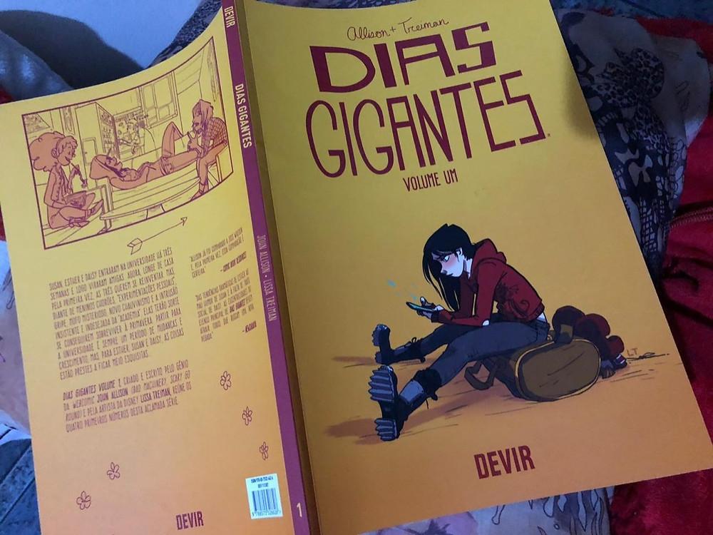 hq dias gigantes resenha graphic novel