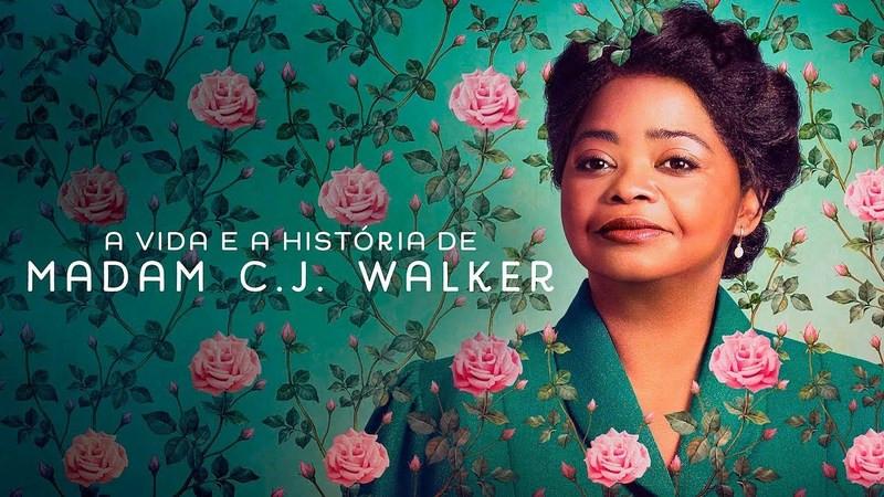 poster de a vida e história da madam c j walkler