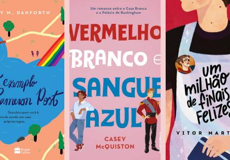6 livros com personagens LGBTQ+ para você conhecer