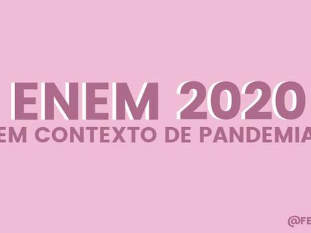 ENEM 2020 em contexto de pandemia