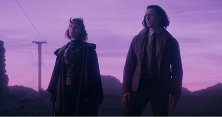 Loki e Sylvie, uma relação de.... amor?