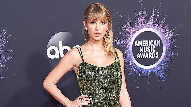 Cantora Taylor Swift na premiação American Music Awards 2019 AMAs