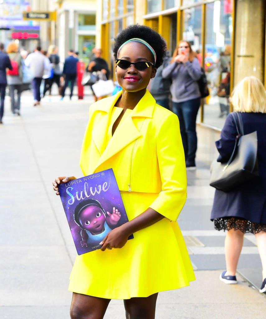 Lupita Nyong'o e seu livro Sulwe
