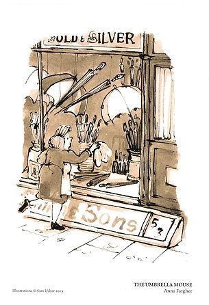 James Smith and Sons Umbrella Shop Illus