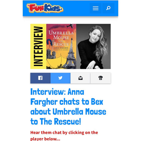 Fun Kids Radio Interview