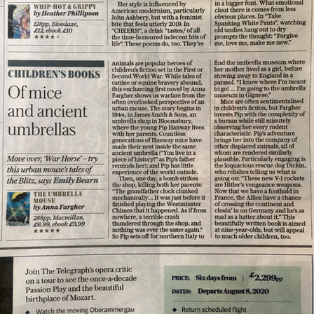 The Daily Telegraph 5* review