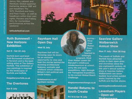 Seaview Summer Show 2017 Suffolk Norfolk Life Magazine July 2017