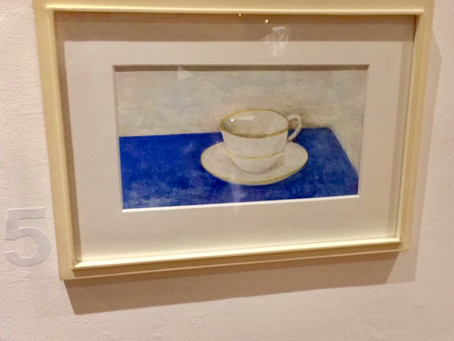 A charming watercolour donated by Tim Fargher sees bidding war at charity auction raising money for