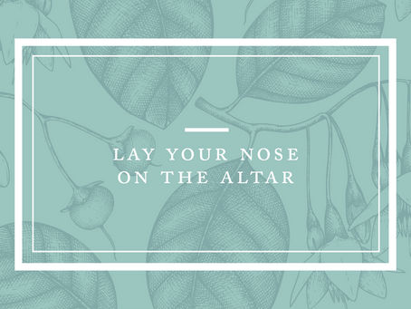 Lay Your Nose on the Altar