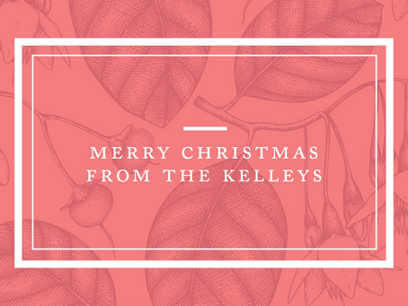 Merry Christmas from the Kelleys