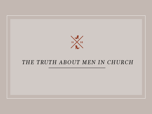 The Truth About Men in Church