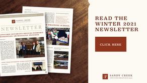 Winter 2021 Sandy Creek Foundation Newsletter