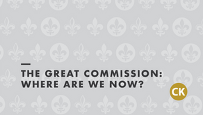 The Great Commission: Where are we now?