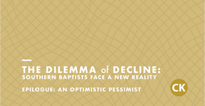 The Dilemma of Decline: Epilogue - An Optimistic Pessimist