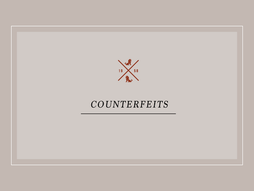 Counterfeits