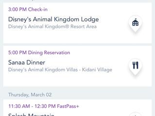 My Disney Experience Mobile App: Zip-A-Dee-Doo-Dah! The World Is At Your Fingertips