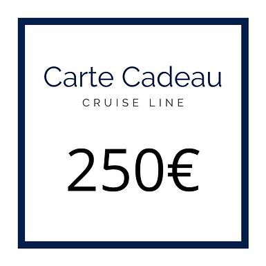 Carte Cadeau Cruise Line 250€