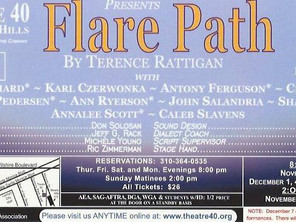Stage Raw recommends 'Flare Path'