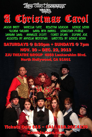 A Christmas Carol at Zombie Joe's Underground