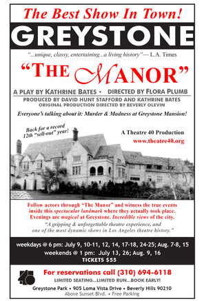 "Annalee joins the cast of ""The Manor"""