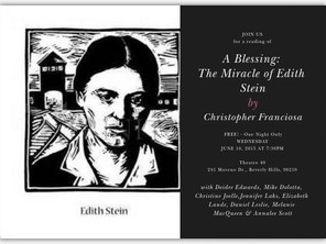 A Blessing: The Miracle of Edith Stein