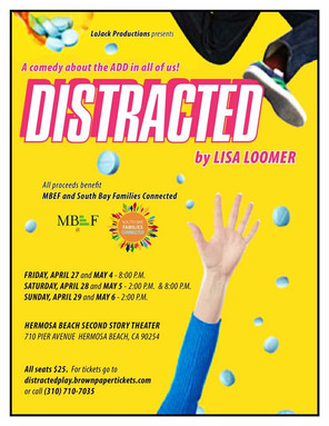 "Annalee stars as Mama in ""Distracted"" at Hermosa Beach"