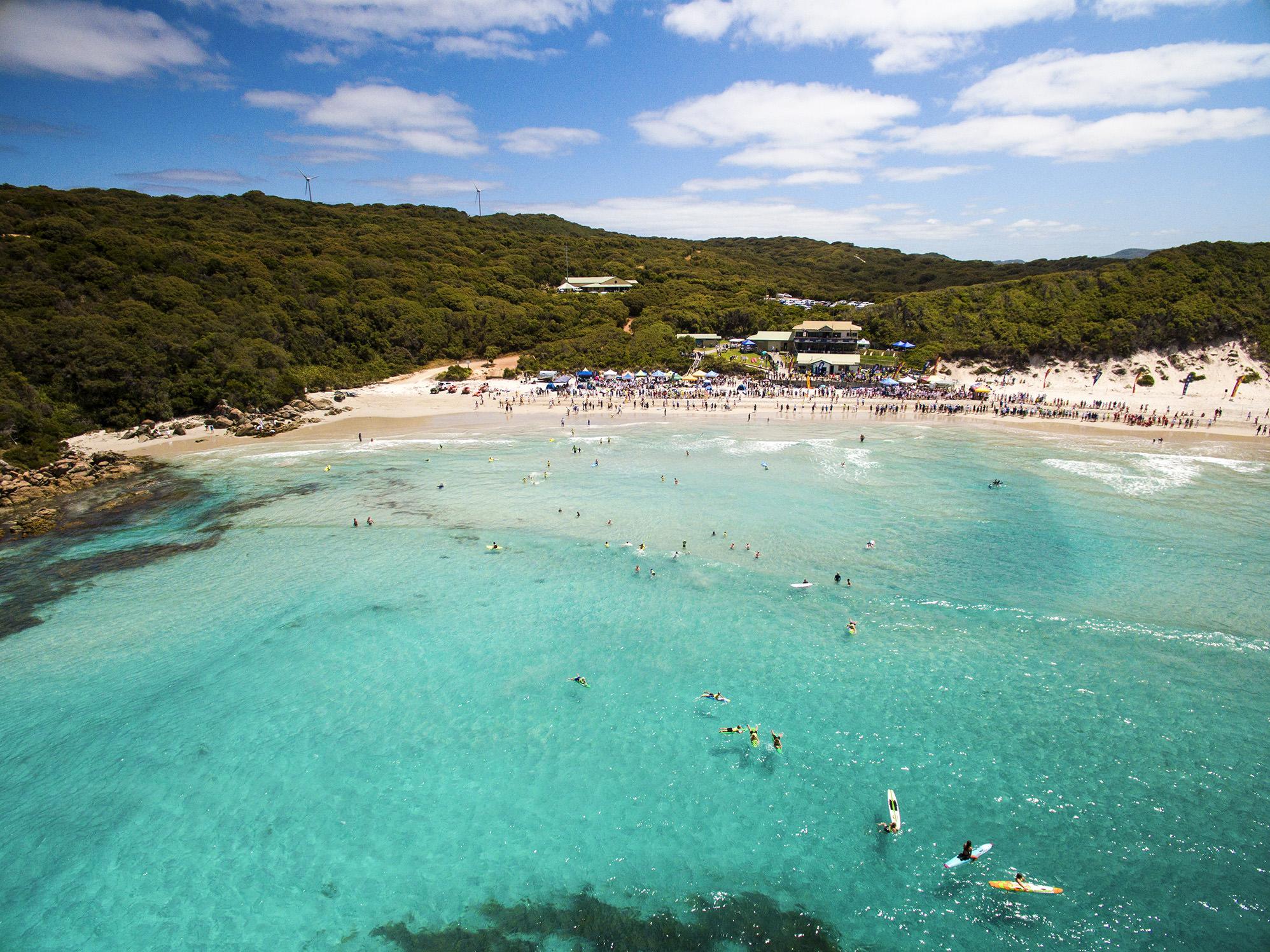 Surf Club Aerial Image