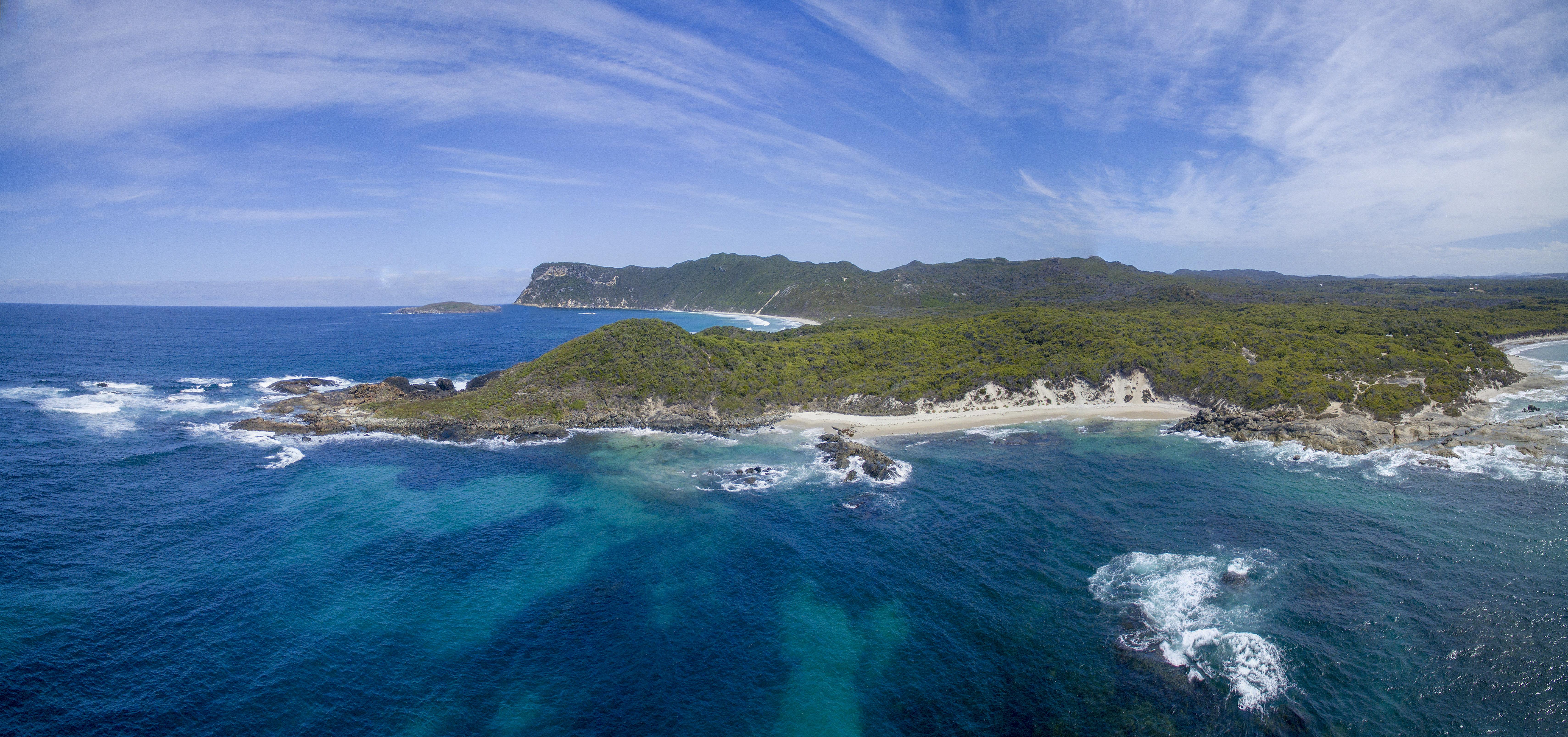 Parrys Beach Rocks