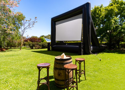 Outdoor Cinema Event Photography