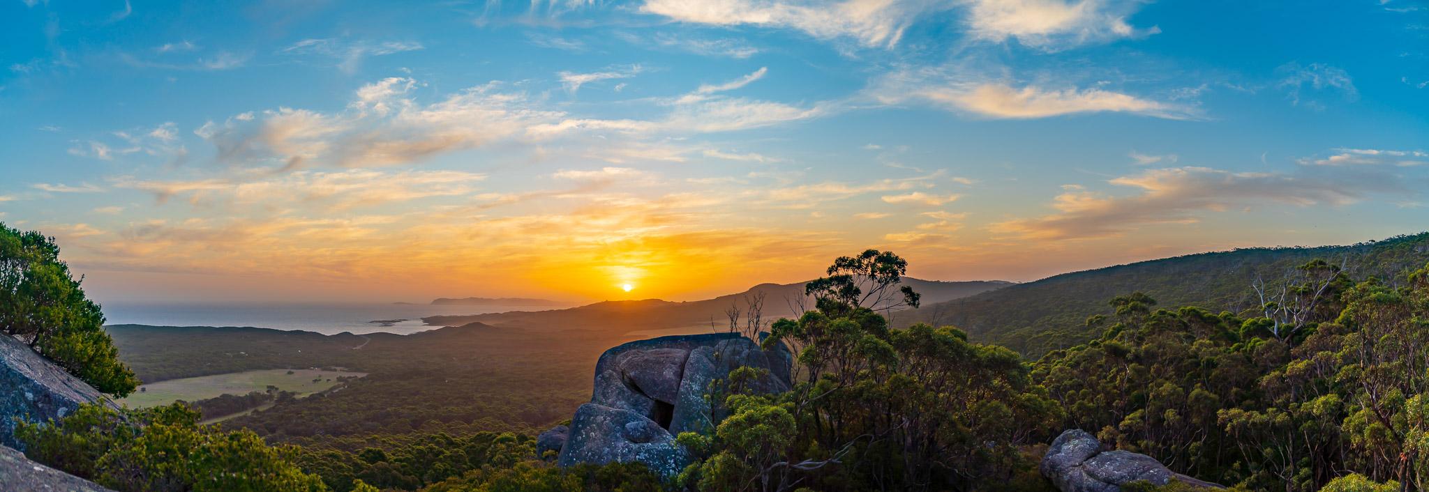 Monkey Rock Sunset