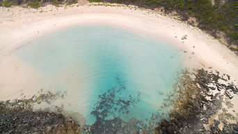 aerial image drone photo of Quarrum pool near Denmark WA