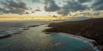 aerial of lights beach on sunset.jpg