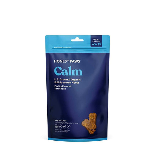 Honest Paws Treats / Calm Hemp Soft Chew
