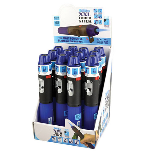 "Turbo Blue Torch Stick Lighter - 6.75"""