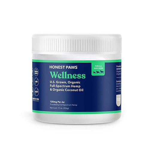Honest Paws / Wellness Hemp Infused Coconut Oil