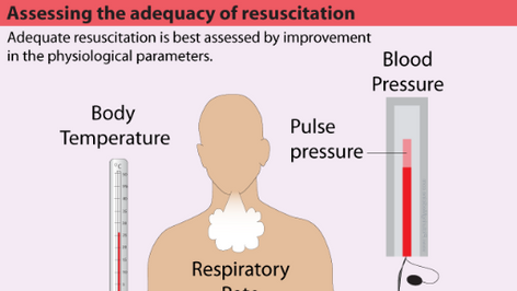 Assessing adequacy of resuscitation in trauma patients.