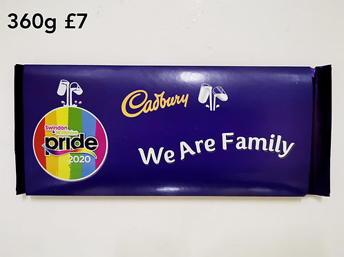 We are family chocolate 360g