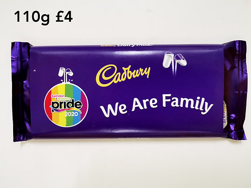 We are family chocolate 110g