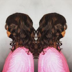 #ombré #highlights #customunit #customunitwig #vegasstylist #curls #beachwaves #enjoy _queenvirginre