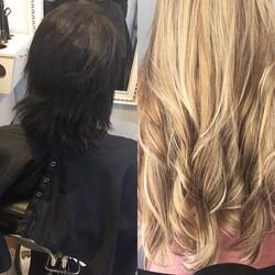 #hairextensions #style #weave #fullextension #fullweave #noleaveout #whitegirl #extensions #longhair