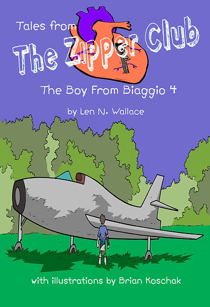 Tales From The Zipper Club - The Boy from Biaggio 4 book cover