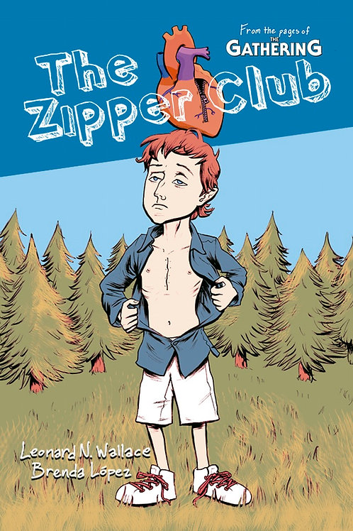 The Zipper Club - Year One - original graphic novel