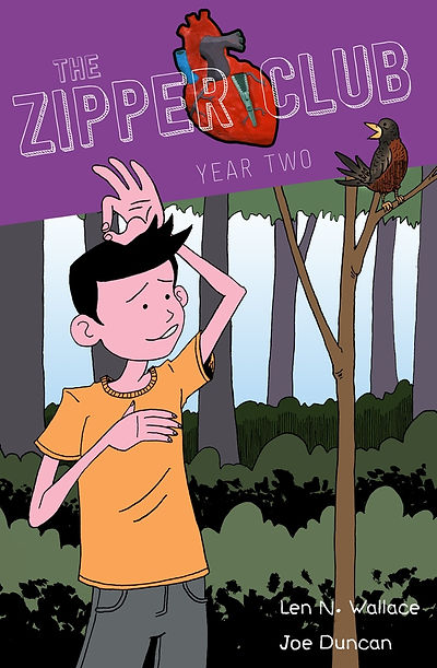 The Zipper Club - Year Two cover
