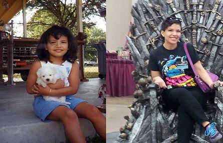 Brenda Liz Lopez - Then and Now