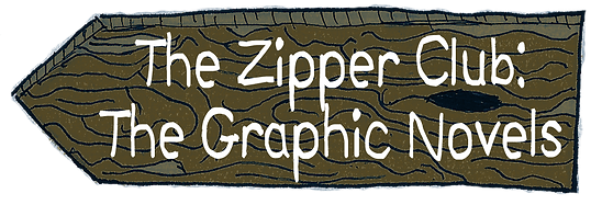 The Zipper Club graphic novel page logo