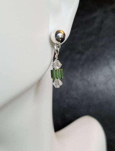 Birthstone Earrings - August